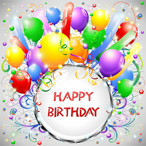 Happy Birthday Greeting Cards App Icon