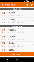 Screenshot of u4fit - GPS Track Run Walk