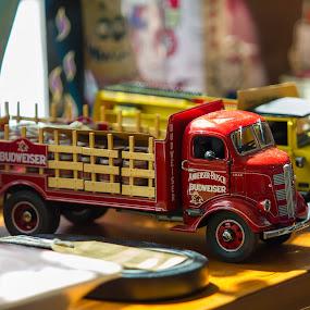 Trucks  by Arthur John A M - Artistic Objects Toys