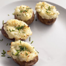 Twice-Baked Sour Cream And Chive Potatoes
