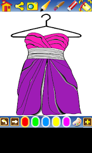 Coloring clothes - screenshot