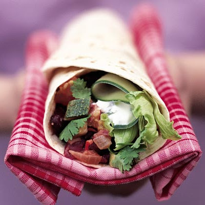 Mexican Chilli Bean Tortilla