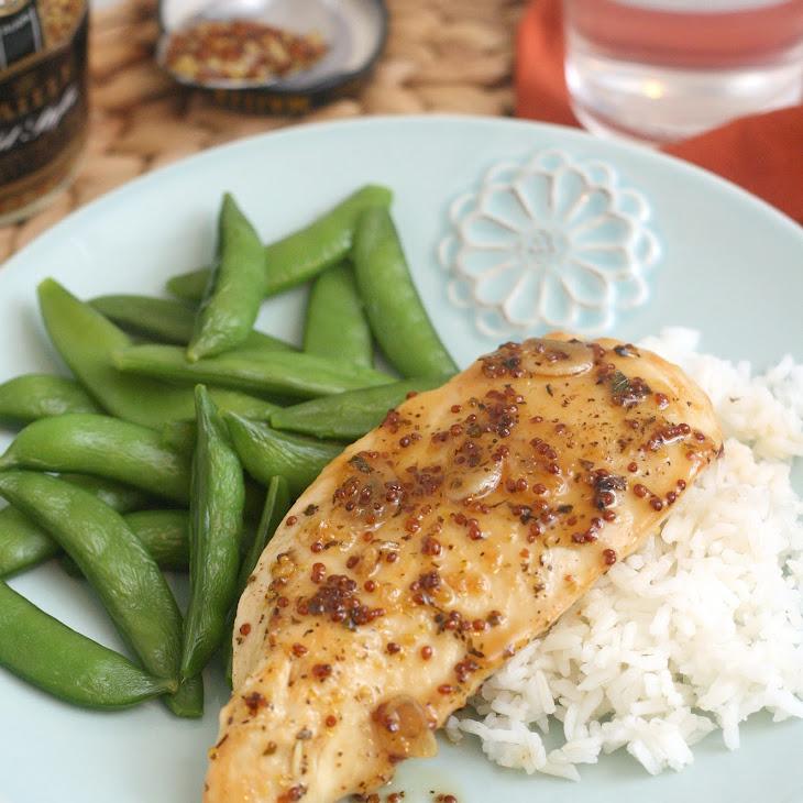Maple-Mustard Glazed Chicken Recipe | Yummly