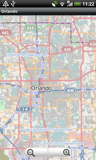 Orlando Street Map
