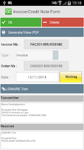 Invoice,Quote,Order,Supplier - screenshot