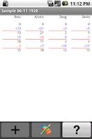 Screenshot of Super Scorepad