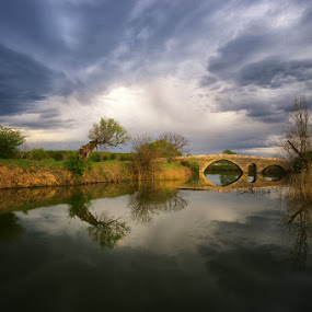 by Стефан Стефанов - Buildings & Architecture Bridges & Suspended Structures ( clouds, old, ancient )