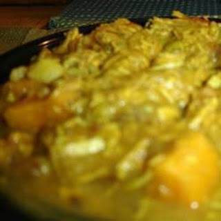 Christmas Leftovers Turkey Curry