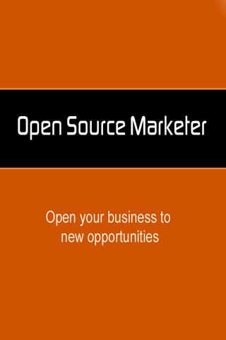 Open Source Marketer