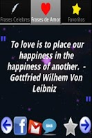 Screenshot of Quotes of Love and Famous