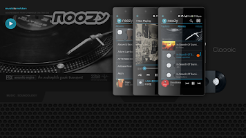Screenshot of noozy