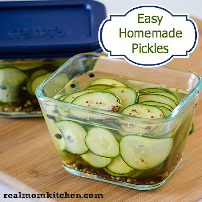 Easy Homemade Pickles