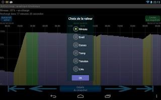 Screenshot of Battery snap