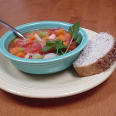 Barley and Tomato Soup
