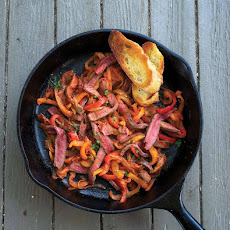 Skillet Steak Peperonata Recipe
