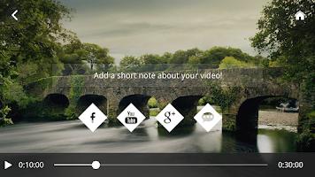 Screenshot of KineMix:Video Highlight Editor