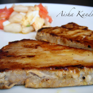 Grilled Tuna with Mustard