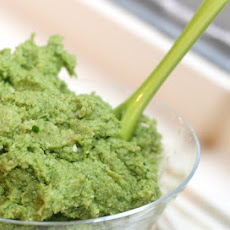 Easy Vegan Garlic Scape Pesto