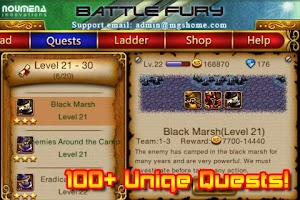 Screenshot of Battle Fury Pro