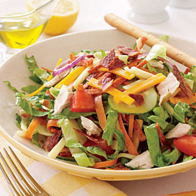 Low-Fat Chef's Salad