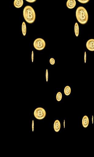 玩免費個人化APP|下載Bitcoin Rain Live Wallpaper app不用錢|硬是要APP