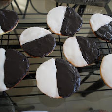 New York City Black and White Cookies