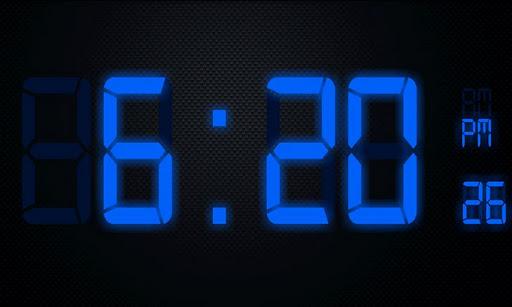 Digital LCD Clock - Free