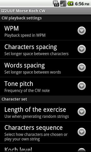 【免費通訊App】IZ2UUF Morse Koch CW-APP點子