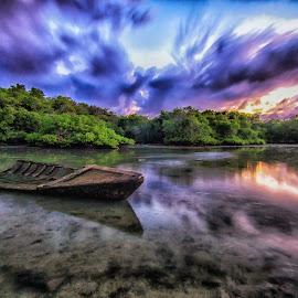 reflection sky by Dek . - Landscapes Sunsets & Sunrises
