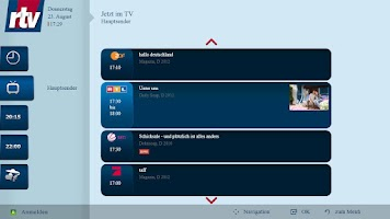 Screenshot of rtv Fernsehguide Smart-TV