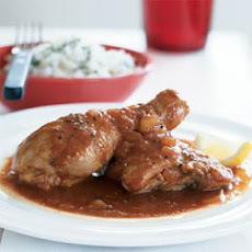 African Chicken in Spicy Red Sauce