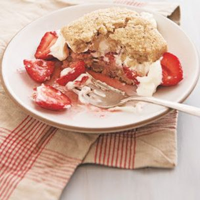 Strawberry Hazelnut Shortcakes