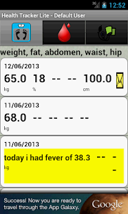 Health-Tracker- screenshot thumbnail