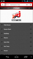 Screenshot of Radio ENERGY Russia (NRJ)