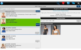 Screenshot of HSN Google TV Shop App