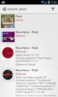 Screenshot of Discogs
