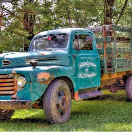 Working Old Timer by Rosemary Jardine - Transportation Automobiles