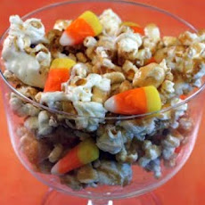 Double Corn Halloween Snack Mix