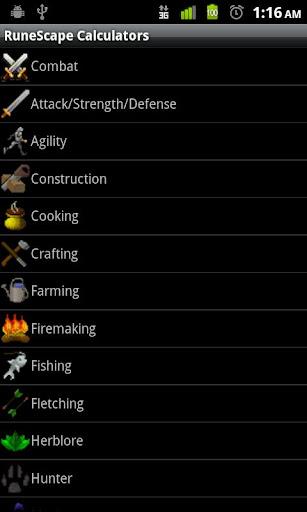 RuneScape Calculators