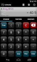 Screenshot of CalcBuddy Calculator