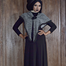 Black Hijab by Zaldy Ogawa - People Fashion