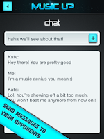 Screenshot of MusicUp