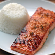 Miso-Ginger Marinated Salmon