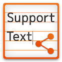SupportText Free icon