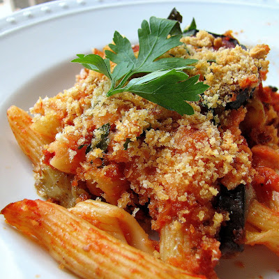 Baked Penne with Eggplant