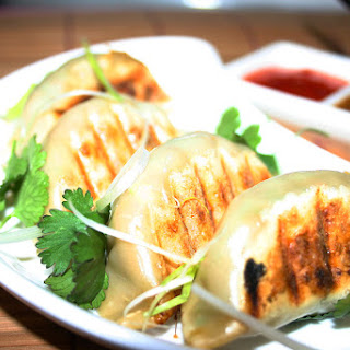 Prawn & Ginger Potstickers