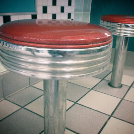 Retro Chairss by Leah Lisee - Artistic Objects Furniture