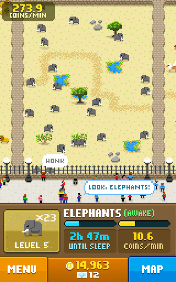 Disco Zoo Screenshot 1