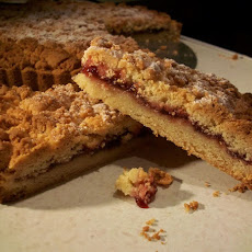 Raspberry Shortbread