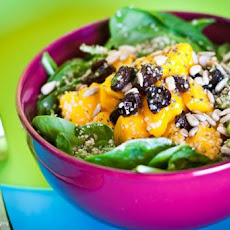 Fruited Spinach Salad With Honey Mustard Dressing